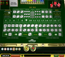 city club casino games