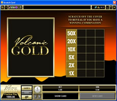 Volcanic gold casino gambling dependence